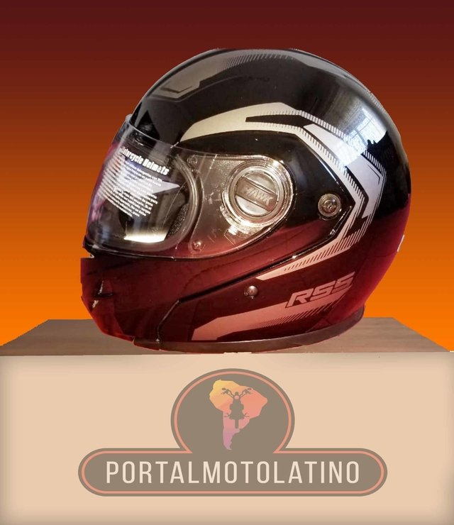 Casco Hawk RS5 Vector - Rebatible con doble visor en internet