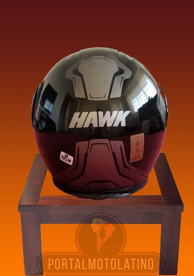Casco Hawk RS5 Vector - Rebatible con doble visor - Portal Moto Latino