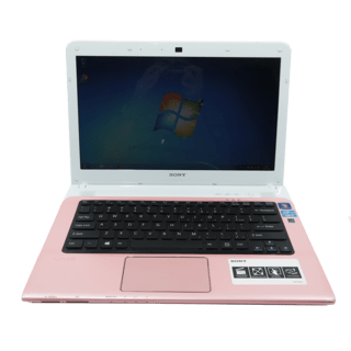 Notebook Sony Vaio Rosa Core I3 2.4Ghz Hd 500Gb 4Gb USADO