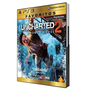 PS3 - Uncharted 2 - Among Thieves - USADO
