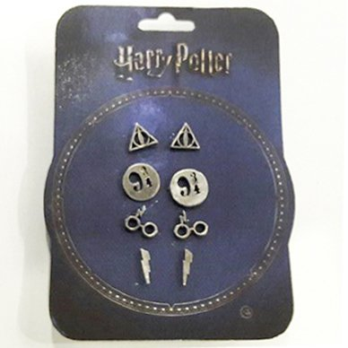 Pack Harry Potter Aros Color Plata