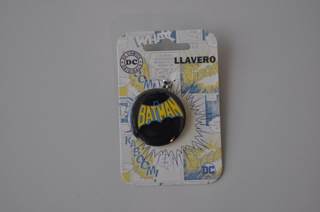 Llavero Dc Comics Batman Logo Retro