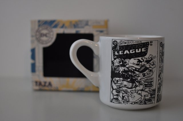 Taza Dc Comics Justice League Retro
