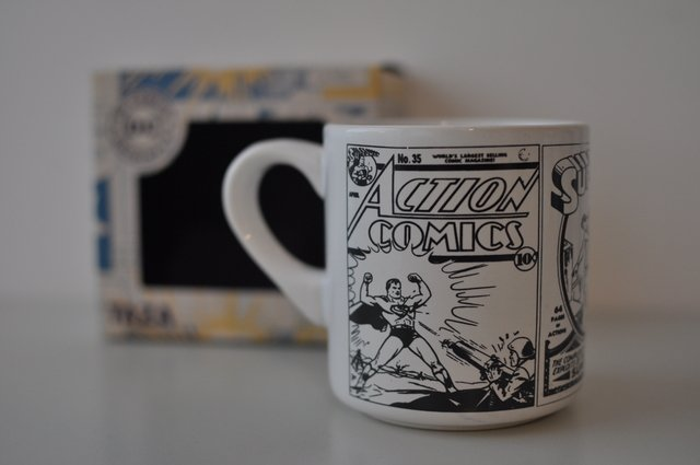 Taza Dc Comics Superman Retro