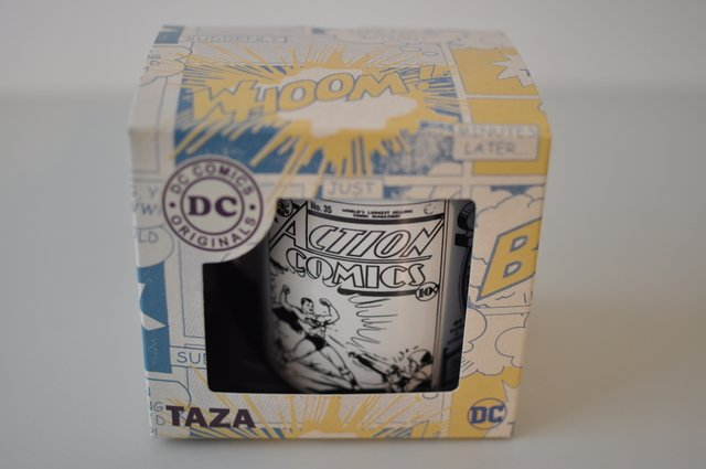Taza Dc Comics Superman Retro - geekmarket