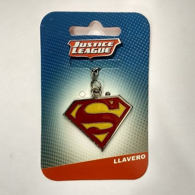 llavero dc comics superman logo (metal)