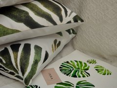 Pack x 3 Almohadones Casa Inspirada Monstera - Innatura