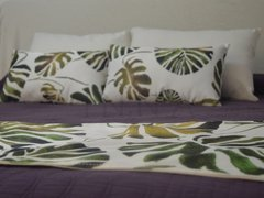 Pack x 4 + pie de cama Monstera