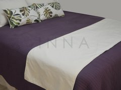 Pack x 4 + pie de cama Monstera - comprar online