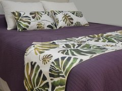 Pack x 4 + pie de cama Monstera - INNA