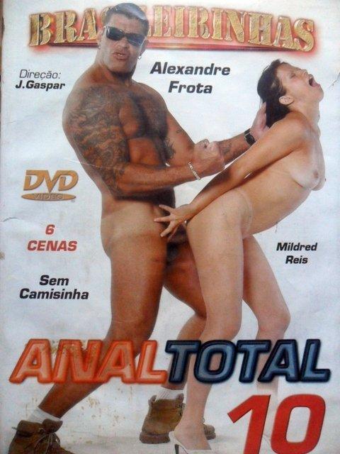 Dvd Anal Total 10 Alexandre Frota Brasileirinhas