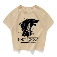 Camiseta Arya GOT Game of Thrones na internet
