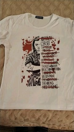 Camiseta Arya - Hadassa Personagens