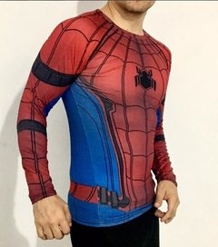 CAMISA MANGA LONGA SPIDERMAN HOME COMING na internet