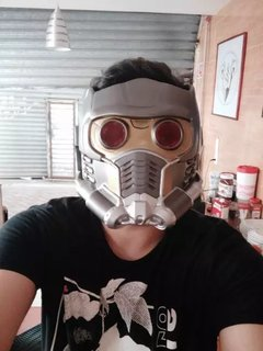 Capacete Star Lord com led