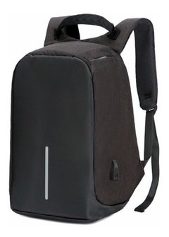 Mochila Antirrobo Porta Notebook Usb Impermeable
