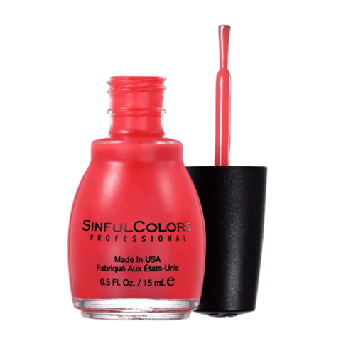 Esmalte SinfulColors - Energetic Red 15ml