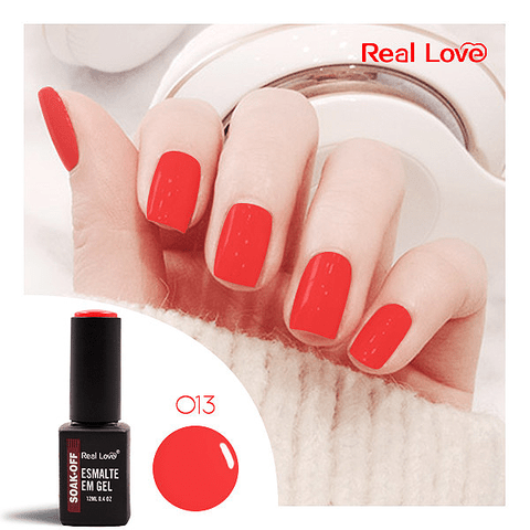 Esmalte Gel 12ml Cor 013 - Real Love
