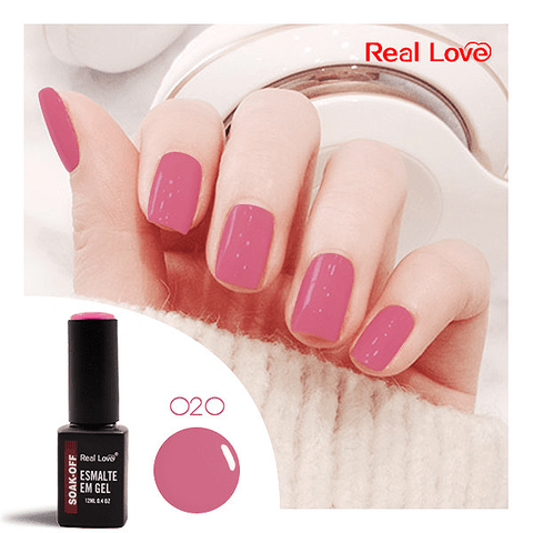 Esmalte Gel 12ml Cor 020 - Real Love