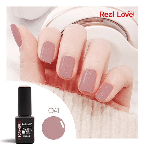 Esmalte Gel 12ml Cor 041 - Real Love