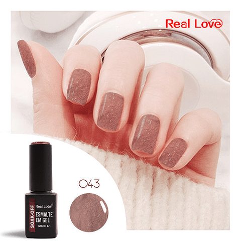 Esmalte Gel 12ml Cor 043 - Real Love