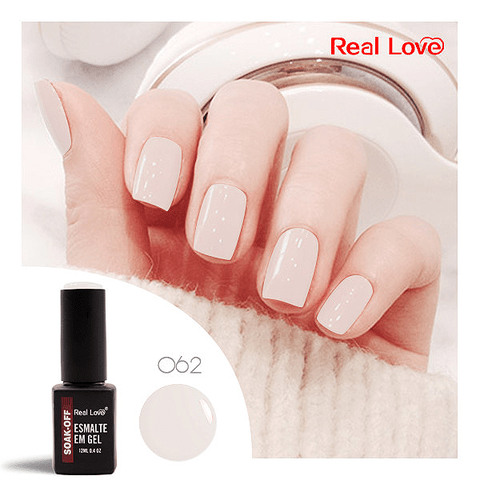 Esmalte Gel 12ml Cor 062 - Real Love