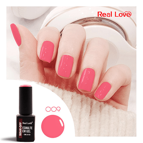 Esmalte Gel 12ml Cor 09 - Real Love