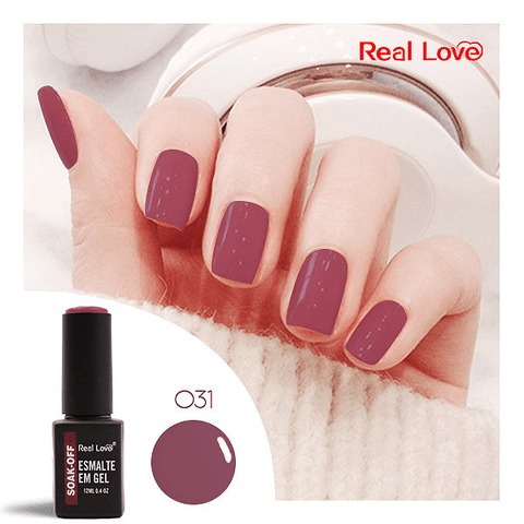 Esmalte Gel 12ml Cor 31 - Real Love