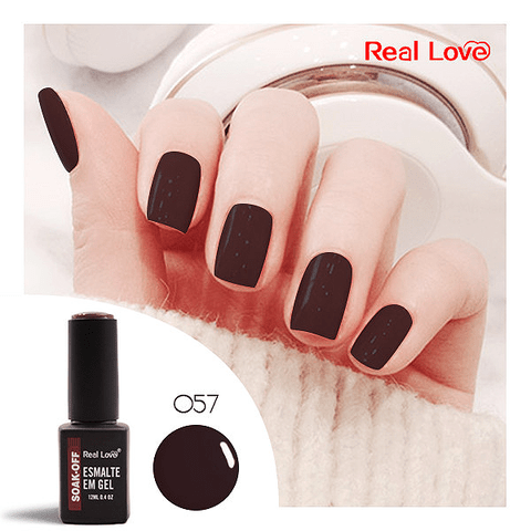 Esmalte Gel 12ml Cor 57 - Real Love