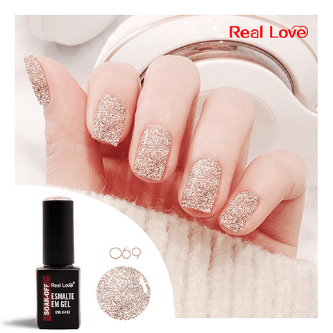Esmalte Gel 12ml Cor 69 - Real Love