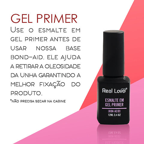 Primer (NON-ACID) 12ml - Real Love - comprar online