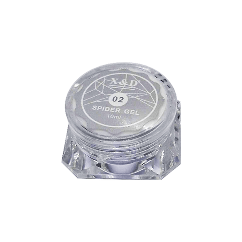 Spider Gel  02 Prata  10ml - X&D