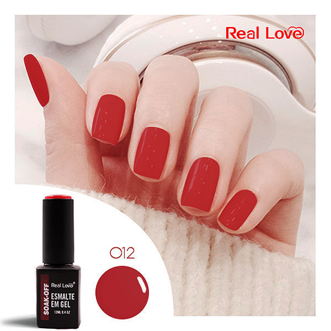 Esmalte Gel 12ml Cor 12 - Real Love