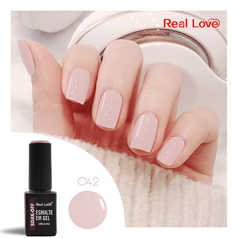 Esmalte Gel 12ml Cor 42 - Real Love