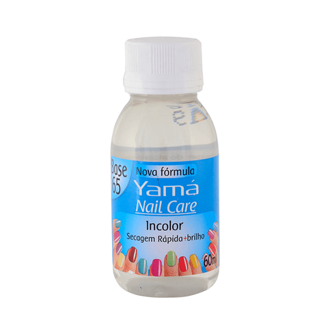 Base Yamá Nail Care - Incolor 60ml