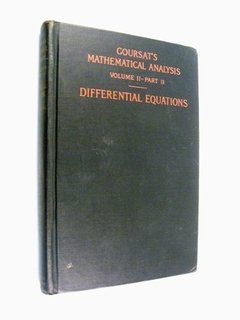 Goursat - Mathematical Analysis : Differential Equations 2-2
