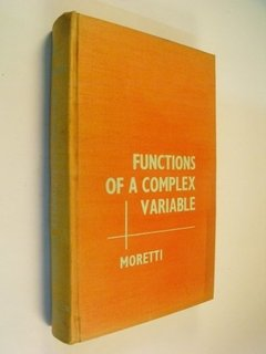 Gino Moretti Functions Of A Complex Variable Prentice-hall