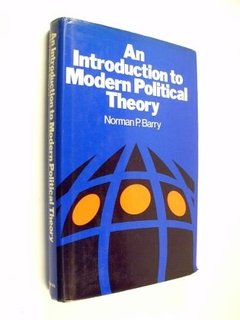 Norman P. Barry An Introduction To Modern Political Theory