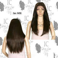 Lace Front Catherine (100% Human Hair) (Encomenda) - IC Divas Lace Wig