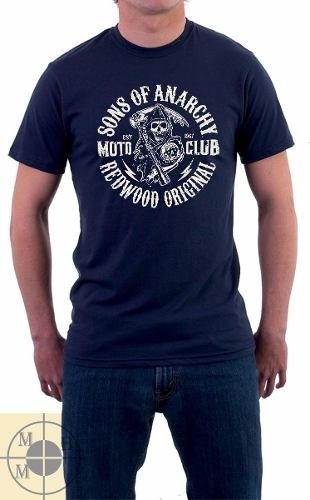 fdeace80a8f7b Camiseta Sons Of Anarchy Samcro, Sons, Filhos Da Anarquia