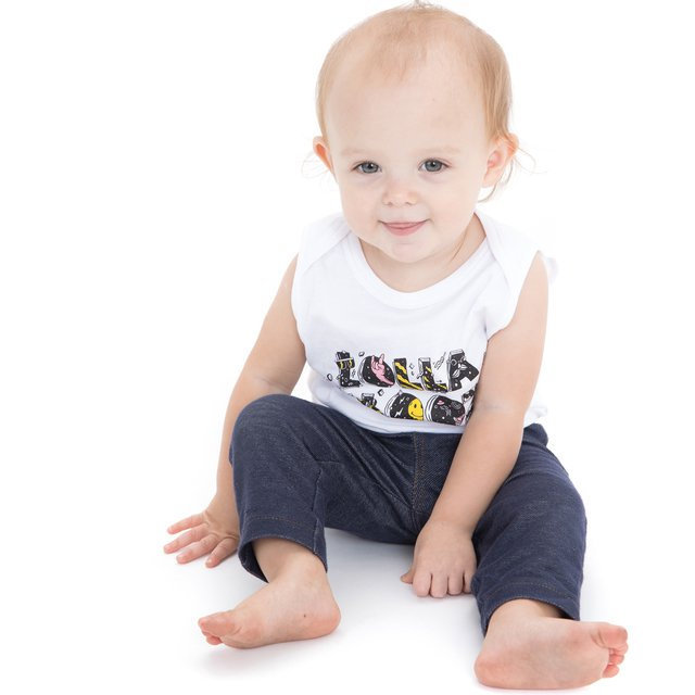 BODY BEBE LOLLA PLAY BLANCO - comprar online