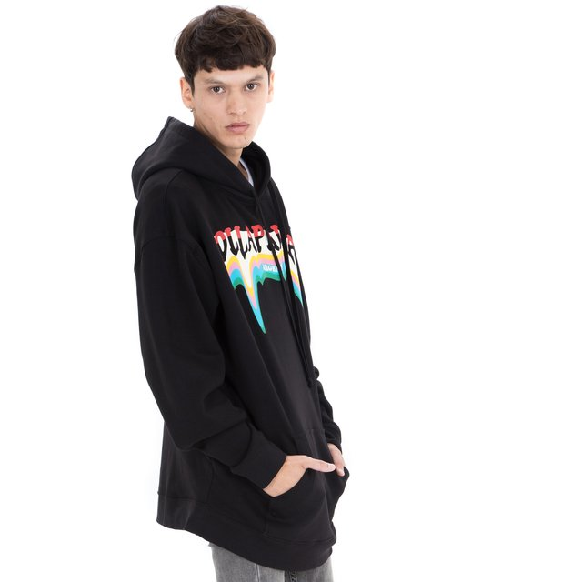 BUZO HOT COLOUR OVERSIZE NEGRO en internet