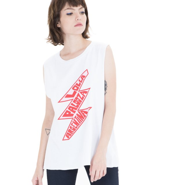 2018 MUSCULOSA MUJER LOLLA THUNDER BLANCO - comprar online