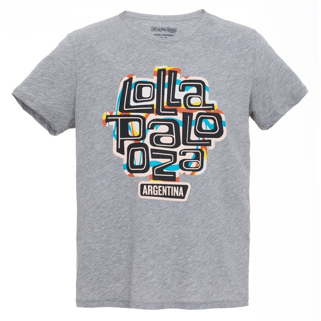 2018 REMERA H REGULAR LOLLA GRIS MELANGE en internet