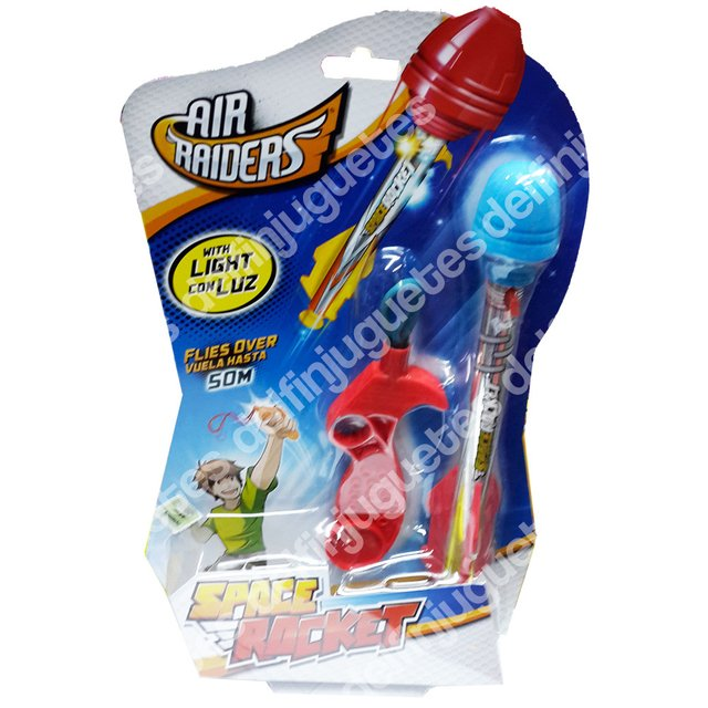 Air Raiders Space Rocket Cohete Vuela Hasta 50 Metros