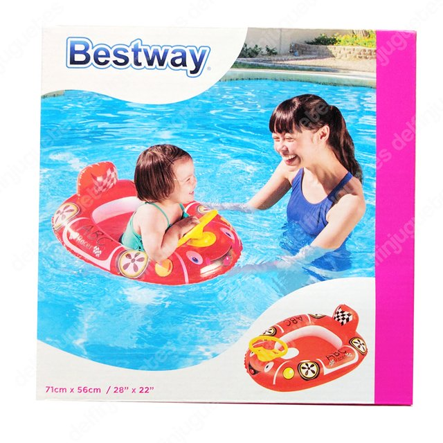 Bestway Baby Boat Bote Con Volante Inflable Bebes 34045