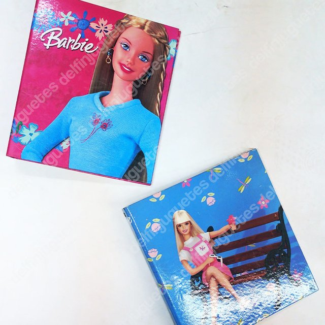 Carpeta Escolar Número 3 Barbie Ganchos Metal