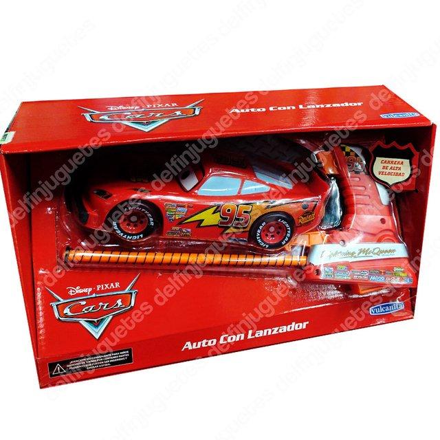 Disney Mc Cars Auto Con Rayo Lanzador Queen 3 Mcqueen iuPXkOZ