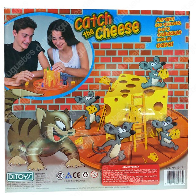 Catch The Cheese Juego Atrapa Quesos Ditoy's Original Tv - comprar online