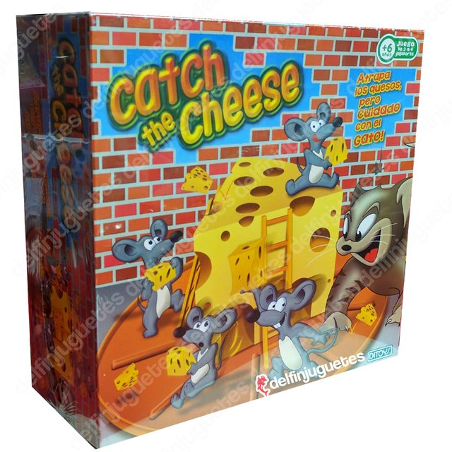 Catch The Cheese Juego Atrapa Quesos Ditoy's Original Tv